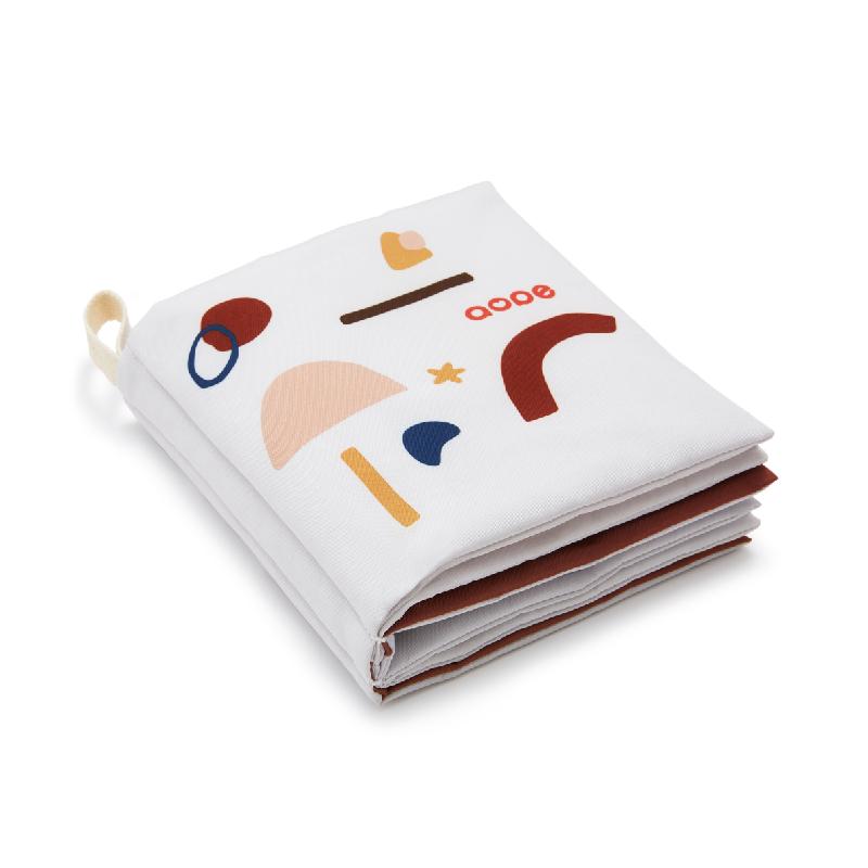 澳培布书早教婴儿撕不烂可咬 立体有声布袋书0-6个月宝宝益智玩具