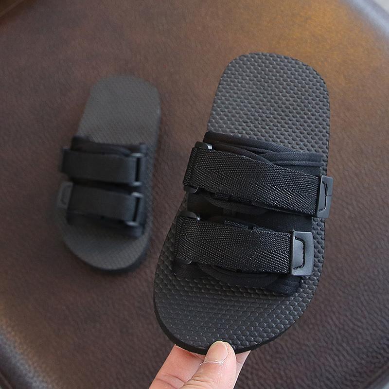 儿童拖鞋夏男童新款防滑外穿凉拖亲子沙滩鞋女童中大童室内一字拖