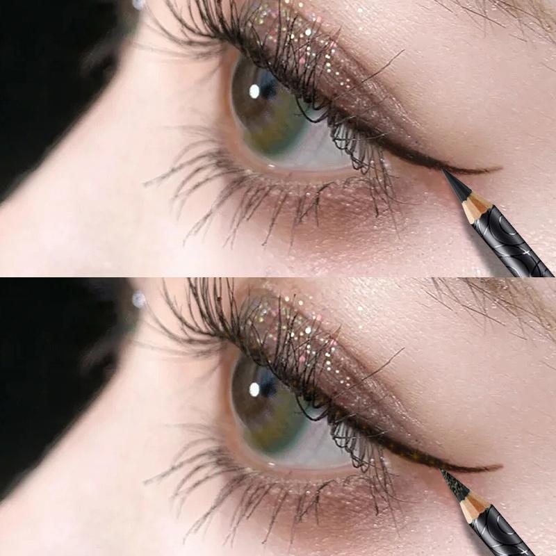 卡姿兰防水持久不掉色黑色式眼线笔好用吗