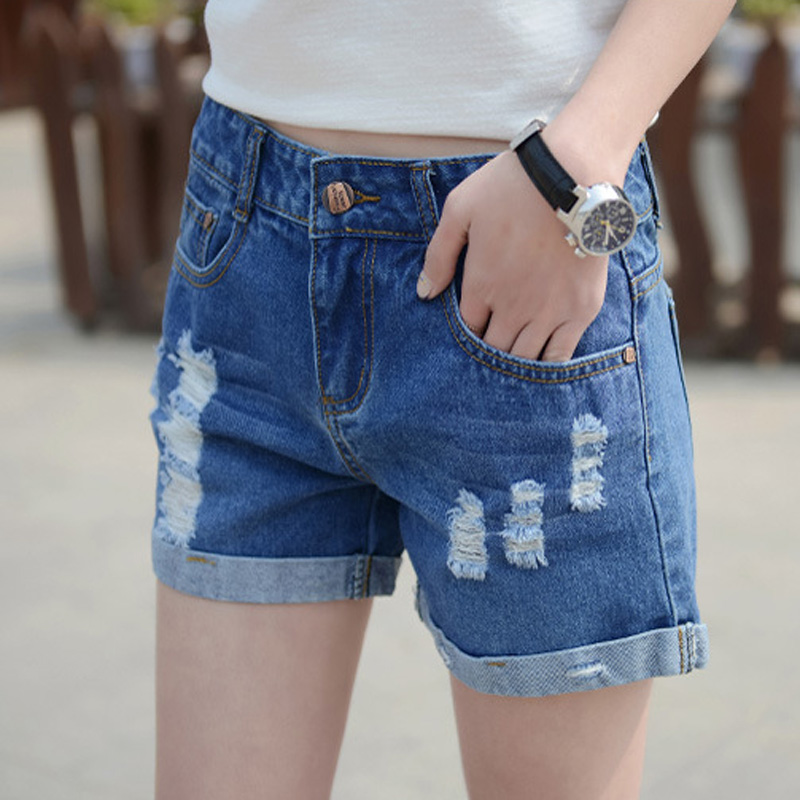Jeans Shorts womens 2020 summer wear slim hot pants