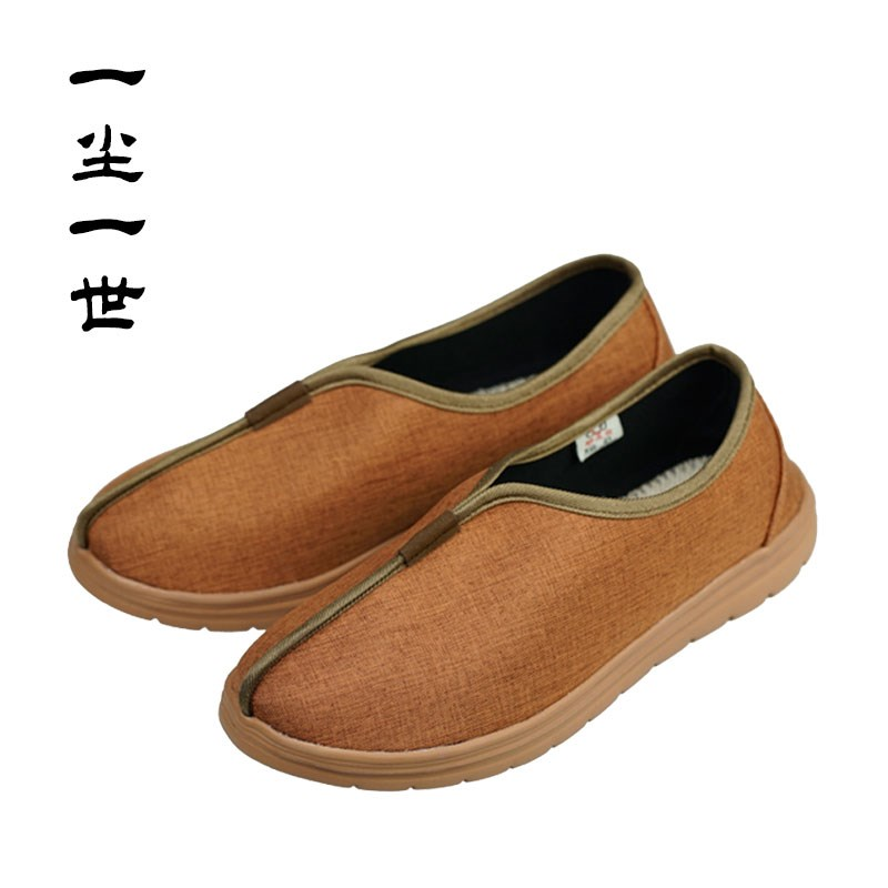 Monks shoes, Buddhists antiskid shoes, Buddhists antiskid shoes, familys shoes, Buddhists cloth shoes, deodorant and comfortable Chinese style