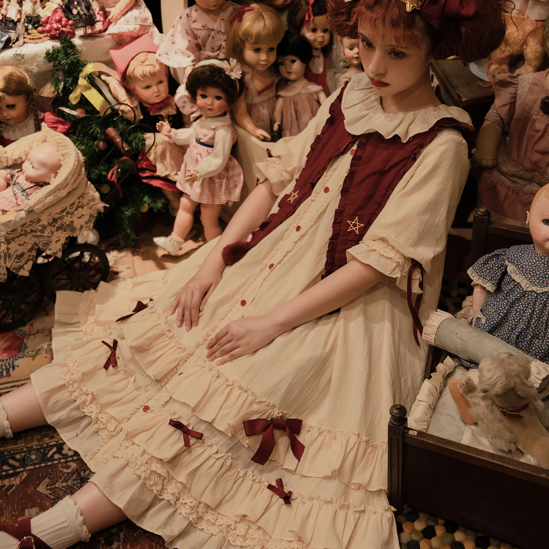 [deposit booking] | sweet star song | OP Lolita Dress original design incomplete