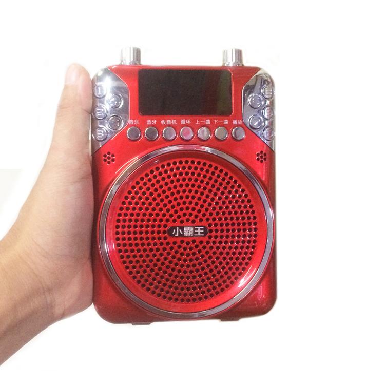 小霸王扩音器教师用无线蓝牙会议耳麦导游话筒喇叭扬声器导游专用