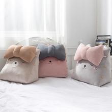床上大靠背三角靠枕床頭靠墊抱枕飄窗沙發可愛臥室護腰靠背墊腰枕
