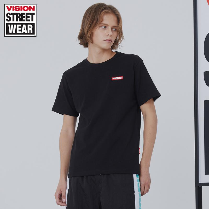 VISION STREET WEAR2019新款LOGO刺绣针织衫男针织衫女V192NC4100