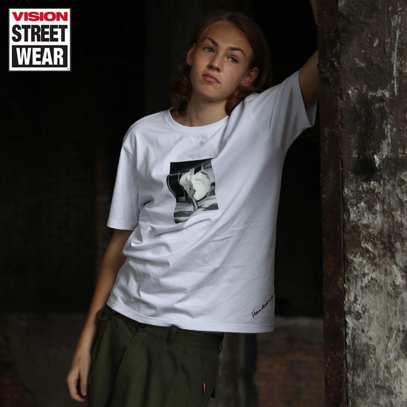 VISION STREET WEAR 新款潮流寬松主題印花男女同款T恤