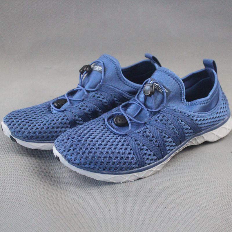 2021新夏季透气网面跑步鞋镂空溯溪鞋排水沙滩鞋男女鞋水陆两用鞋