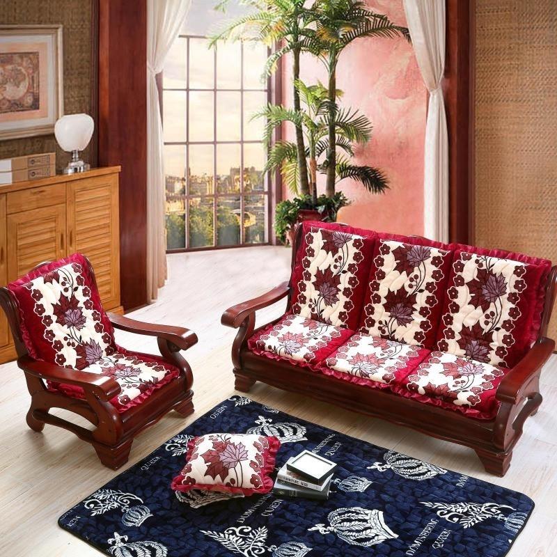 沙发垫椅子垫木质贵妃椅套装50五木老板椅坐椅子密度木椅家具实木