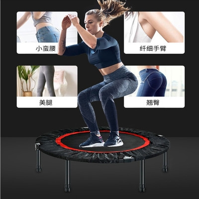 Outdoor large trampoline childrens kindergarten trampoline bungee jumping amusement equipment square stall business bouncing bed