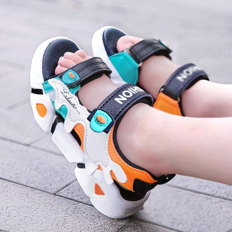 2021男童凉鞋新款中大童学生鞋子