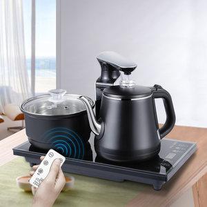 全自动上水烧水壶泡茶专用功夫茶具器电热抽水茶台一体电磁炉家用