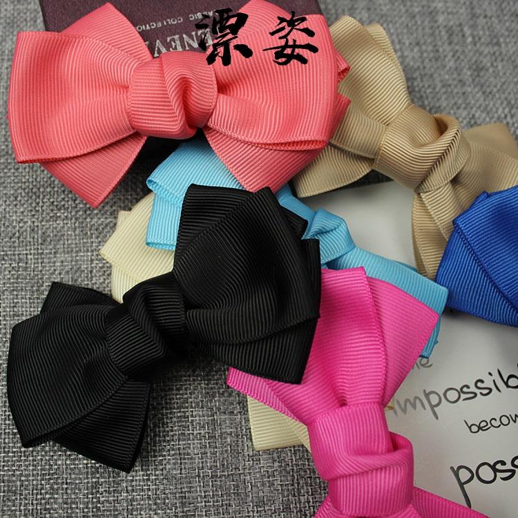 一双价全国包邮时尚双层丝带韩版蝴蝶结鞋花鞋饰品鞋扣鞋配件装饰