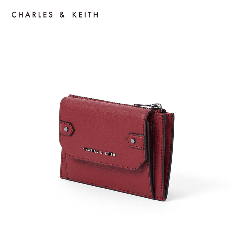 CHARLES&KEITH2020 Autumn New Products CK6-50680869 Ladies Fashion Mini Coin Purse Card Case