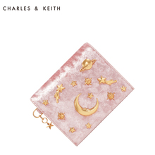 CHARLES & KEITH Star Bag CK6-50700945 Small Short Hand Wallet Card Bag Marriage Bag