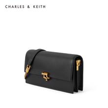 Charles & keith2020 new summer product ck6-10840196 women's Metal Buckle Shoulder Bag Wallet