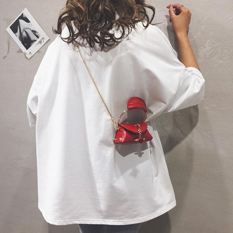 迷你小包包女包新款2020个性百搭手提小包链条单肩斜挎口红零钱包