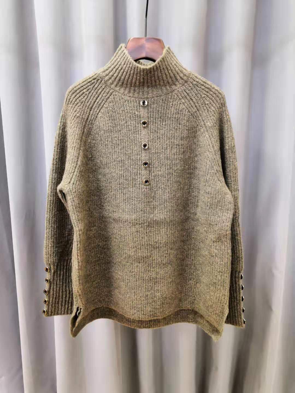 19年新款首发常规款羊毛针织毛衫  2012