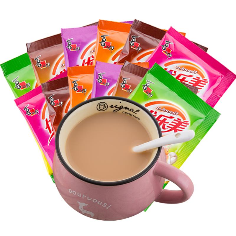 优乐美奶茶袋装22g*30包整箱麦香草莓咖啡巧克力香芋味冲饮奶茶粉