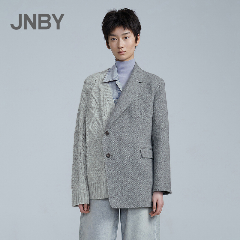 The same style JNBY/Jiangnan Commoner 20 winter new woolen coat in shopping malls is fashionable and interesting 5K0241560