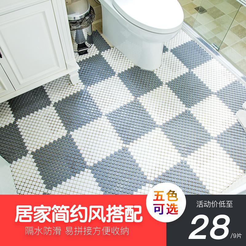 券后28.00元棉觉浴室防滑垫卫生间拼接垫大号洗手间厕所隔水脚垫淋浴洗澡垫子