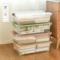 床底收纳箱扁平透明特大号塑料储物整理箱衣服被子床下收纳箱滑轮