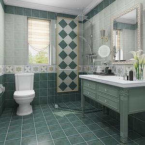 仿古砖地面贴纸防水耐磨厨房客厅地板贴卫生间自粘地板翻新贴防滑