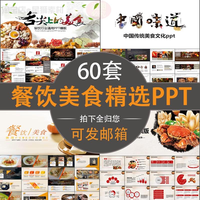 餐饮美食PPT模板西餐咖啡蛋糕甜品食物介绍招商加盟品牌推广总结