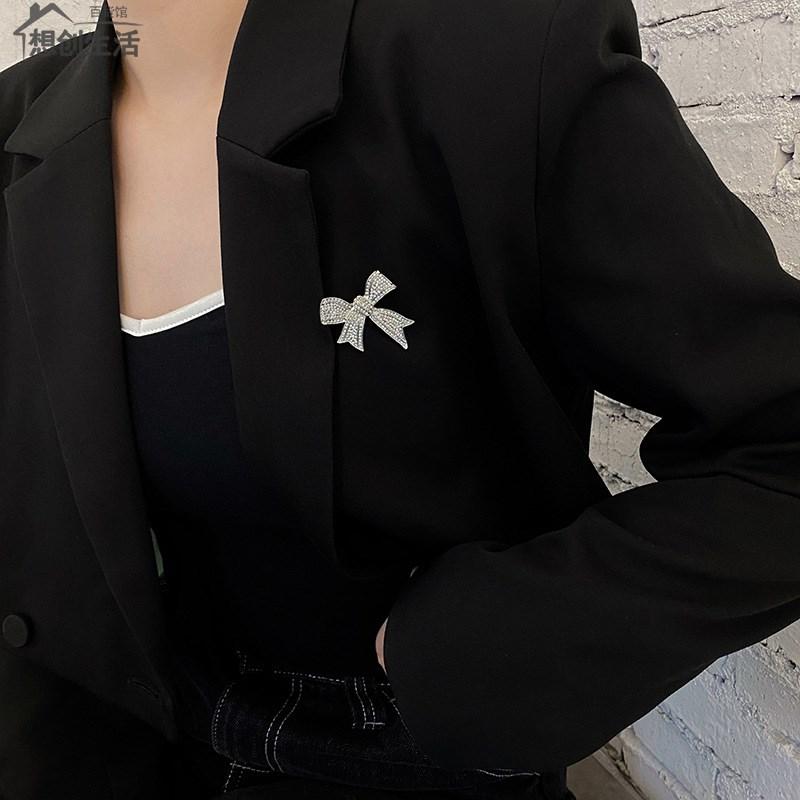 中國代購 中國批發-ibuy99 大衣女 西服胸针女精致设计感胸花2021年新款潮大衣扣别针奢华高档配饰