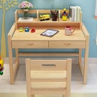 Рабочий стол детские Письменное кресло слово Стол и стул комплект Написание учащихся начальной школы слово Стол можно поднять из массива дерева