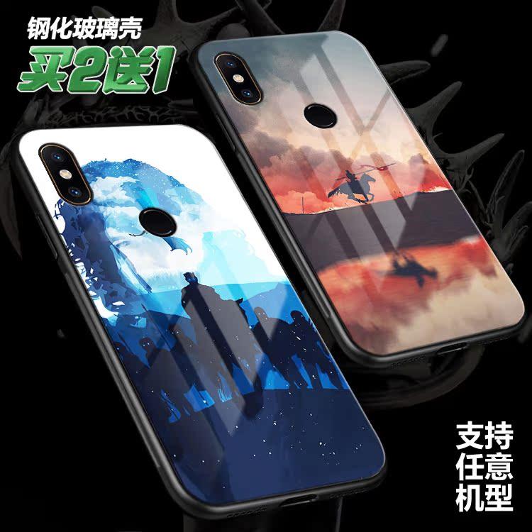 权力的游戏冰与火龙母适用小米mix3 2s定制max3 2玻璃note3手机壳