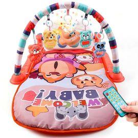 婴儿健身架器脚踏钢琴宝宝带音乐小孩脚蹬玩具脚踩3-8-12个月新生图片
