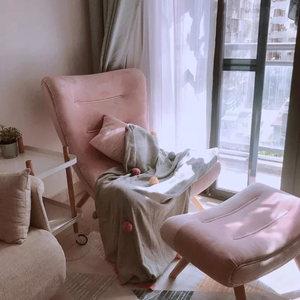 蜗牛椅北欧单人懒人沙发椅躺椅子
