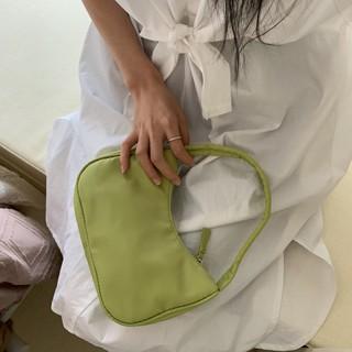 手提包女小包 手拎肯豆 同款中古包2020新款尼龙布迷你单肩腋下包