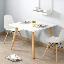 单身公寓家具套装小户型餐桌吃饭桌子出租屋用一桌两椅组合经济型图片