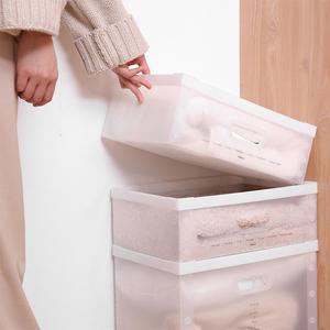 收纳箱家用塑料箱子卧室衣服整理箱车载后备箱储物箱大号可折叠盒