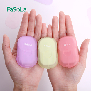 日本旅行洗手片便携式皂片纸小肥皂学生旅游一次性玫瑰花瓣香皂片