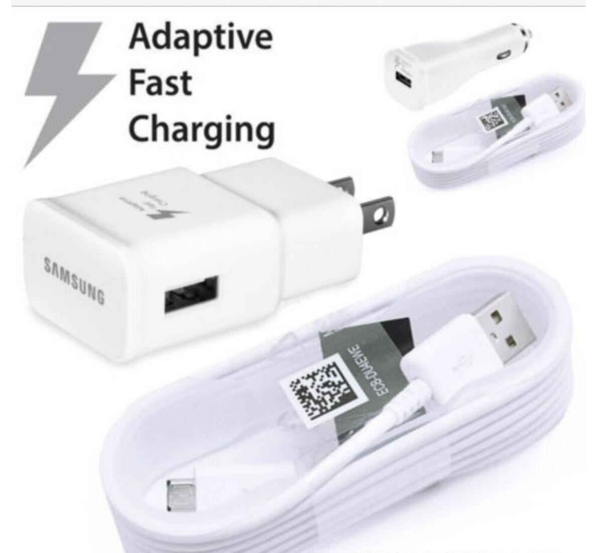 Fast Wall Charger USB Samsung galaxy S7 S6 Edge+ Note 5/4 EU