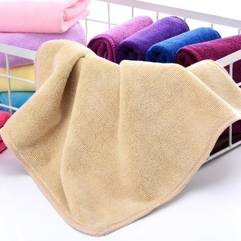 纯棉打扫搞卫生的吸水不掉毛小方巾