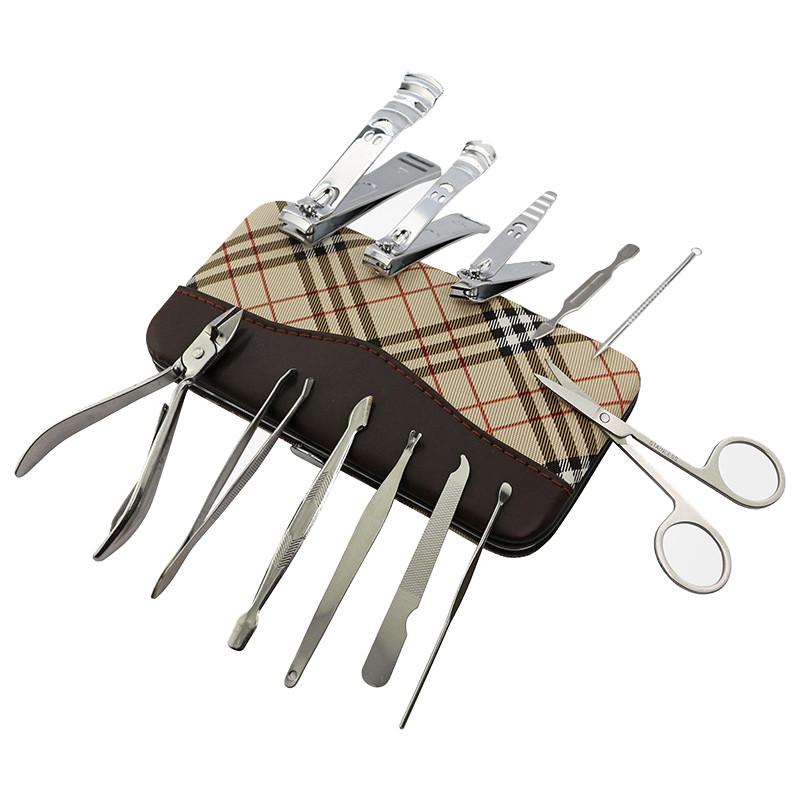 12样修剪指甲刀套装甲沟脚剪刀钳