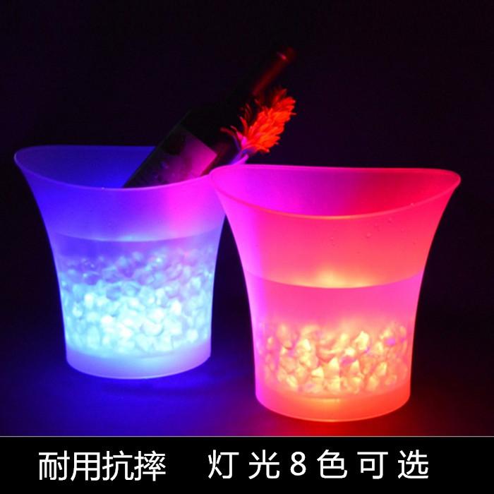 Свет лед баррель бар LED шампанское баррель KTV вино прозрачный красочный лед баррель пиво баррель квартет