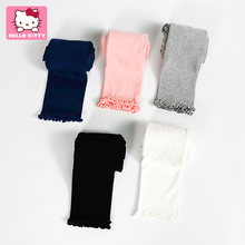 Kitty Kitty girls' Leggings spring and autumn children's all-around nine point pants baby's outer pants children's thin pants