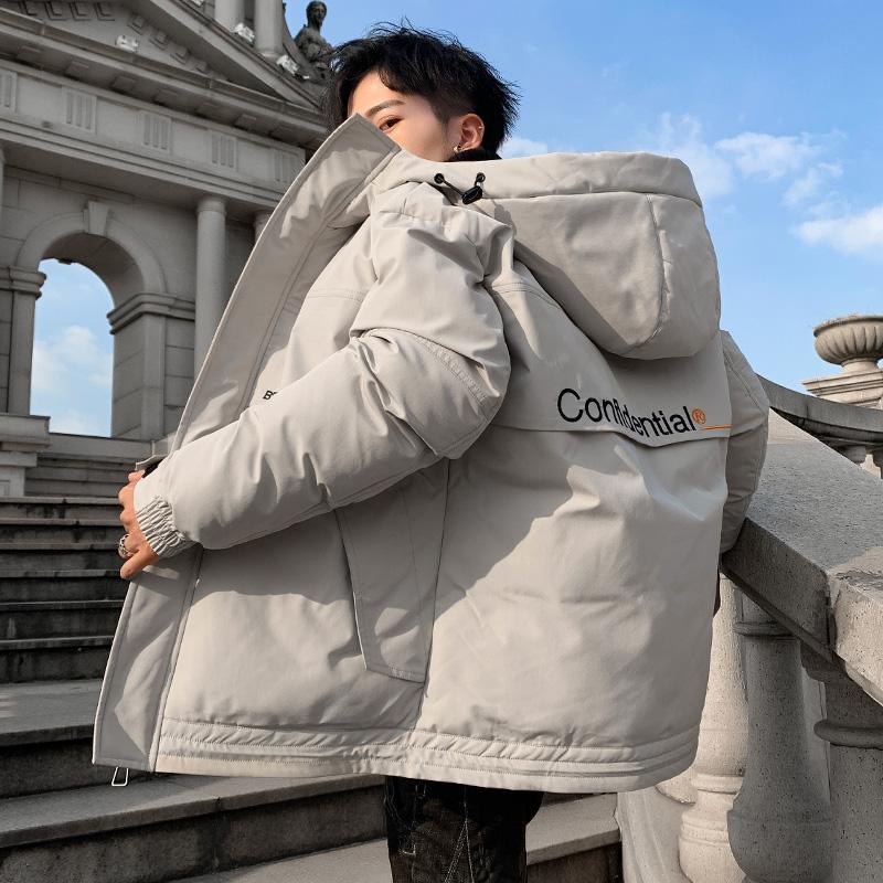 【热销爆款】棉衣男士外套秋冬季羽绒棉服