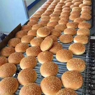 汉堡胚汉堡店快餐小吃夹心夹肉面包