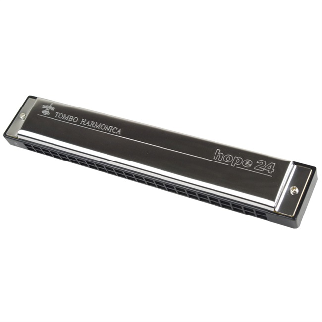 24 harmonica playing Japan 6624 high level beginners adult children polyphony hop hole