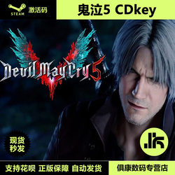 PC正版 鬼泣5 Devil May Cry 5 DMC5 Steam激活码/CDkey/数字版