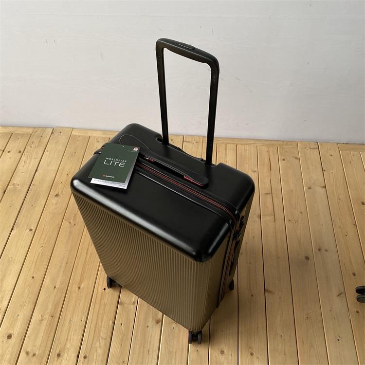 超轻!日本山口高端行李箱日系极简旅行箱万向轮拉杆箱海关锁箱包