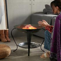 61烟囱特厚白铁皮家用取暖排烟管采暖家用柴火炉煤球炉烟囱火炉烟
