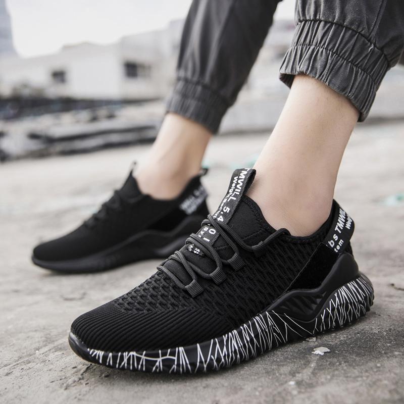 轩尧耐克泰2020夏季飞织运动女鞋透气网布跑步鞋女百搭韩版健身鞋
