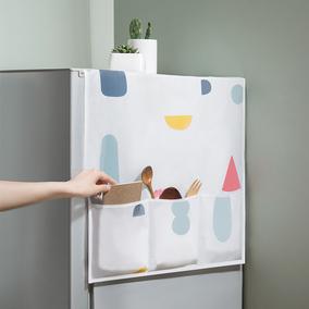 冰箱滚筒洗衣机床头柜微波炉防尘罩