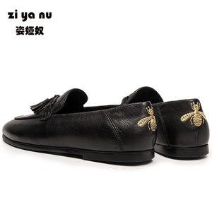 豆豆鞋韩版流苏英伦男士懒人潮男鞋